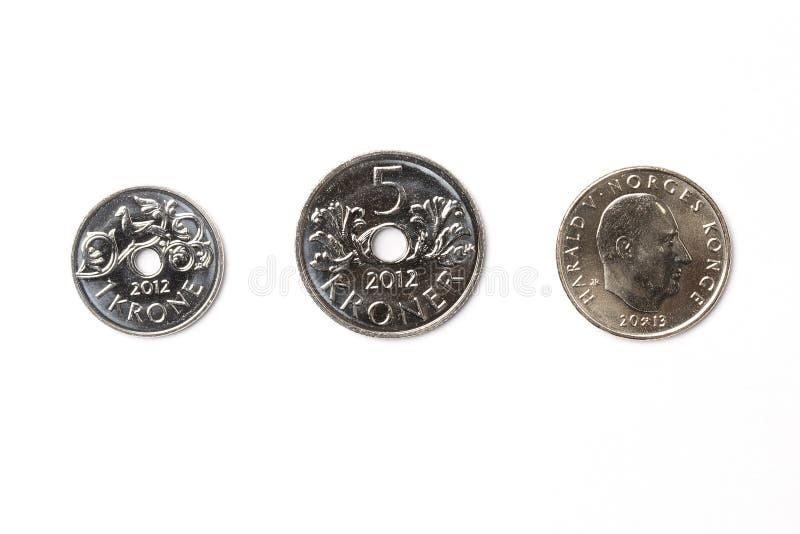 Norwegian krone stock image
