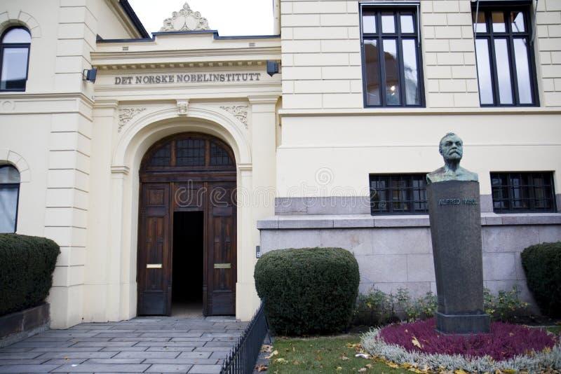 The Norwegian Nobel Institute in Oslo royalty free stock photo