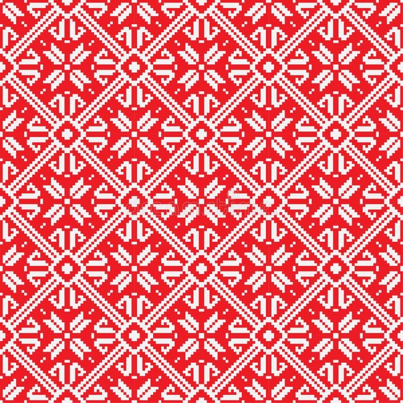 Norwegian Pattern, Vector Eps 10 Illustration Royalty Free Stock Images
