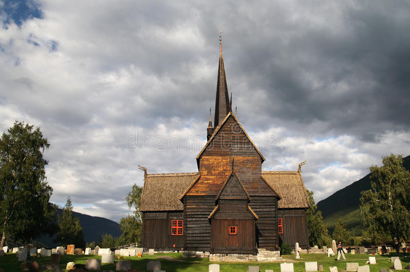 Download Norwegian Stave Church Stock Image - Image: 16247341