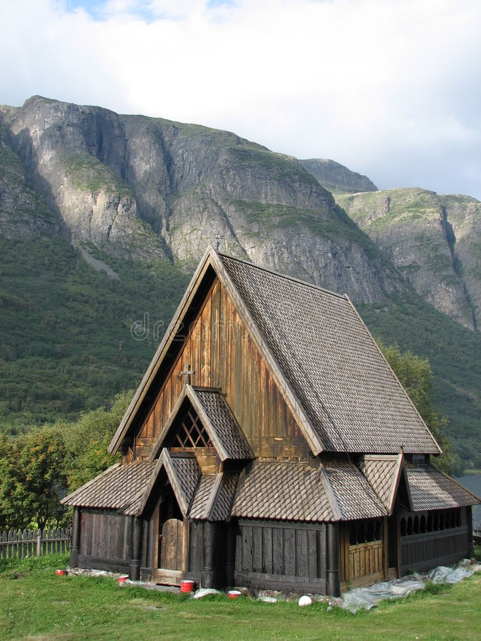 Free Norwegian Stave Church Stock Images - 2944434