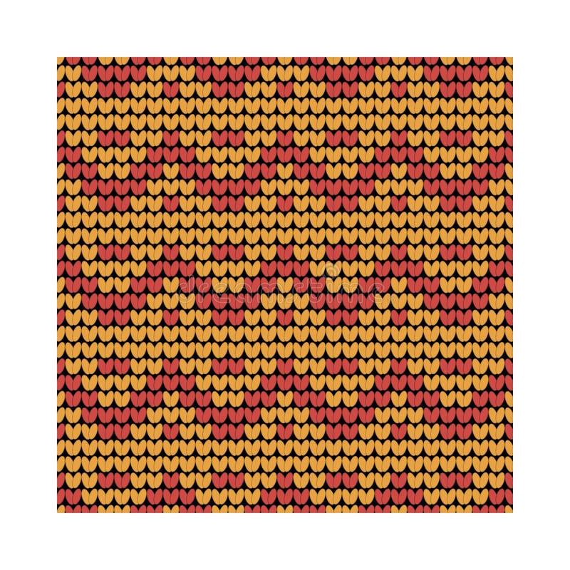 Norwegian traditional ornament. Seamless pattern with geometric ornament. Knitting Pattern. stock photos
