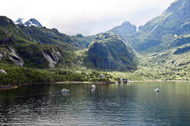 Download Norwegian Trollfjord stock image. Image of north, fisherboats - 27550315