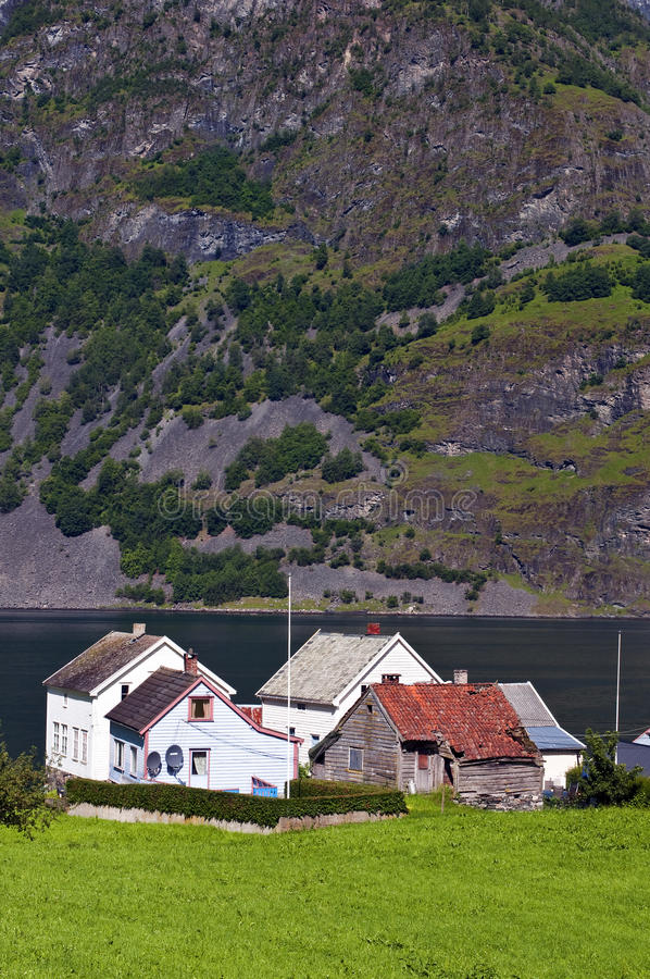 Download Norwegian village stock image. Image of village, countryside - 20837115