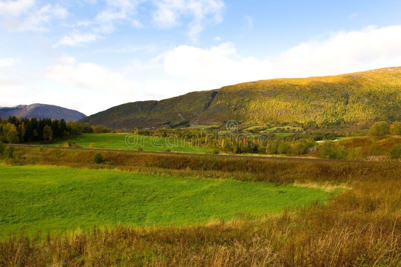 Norwegische Landschaft stockfoto