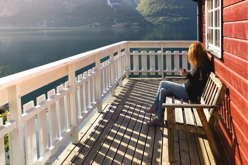 Norwegu krajobraz zdjęcia stock