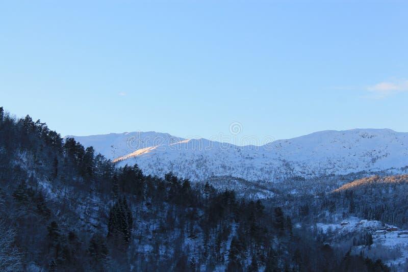 Norweska góra 001 zdjęcia stock