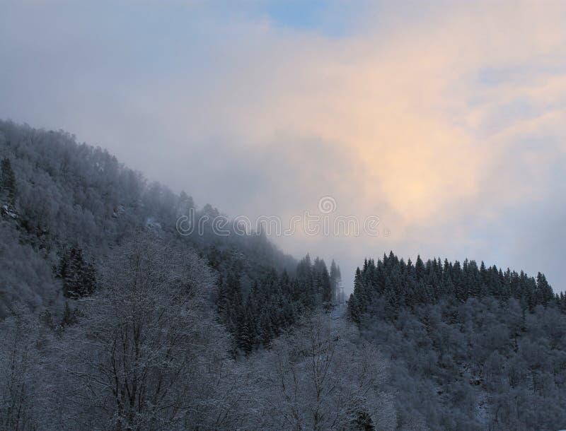 Norweska góra 002 obraz royalty free