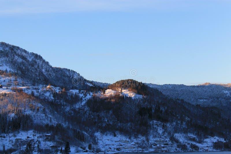 Norweska góra 007 zdjęcia royalty free