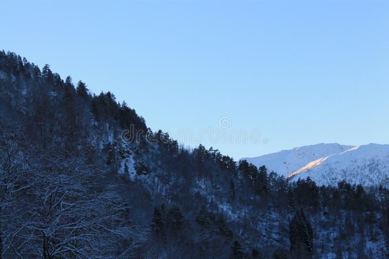 Norweska góra 009 obraz stock