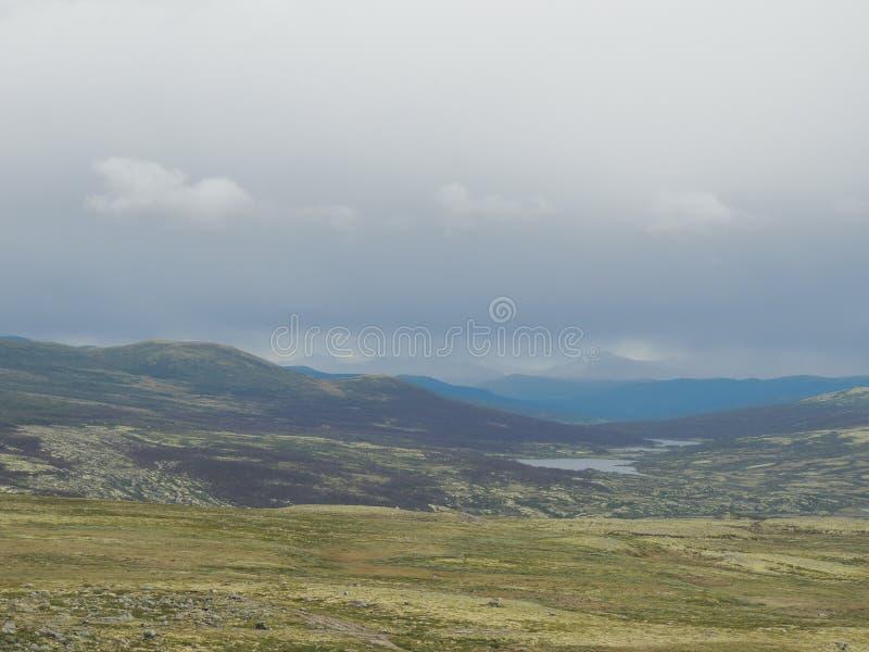 Norweska tundra obrazy royalty free