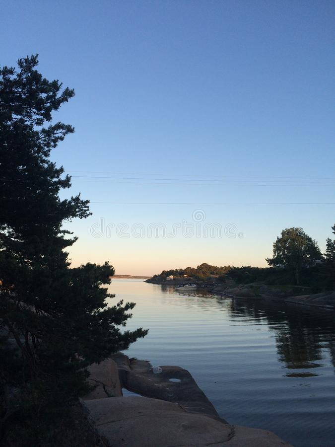 Norweski lato zdjęcia stock