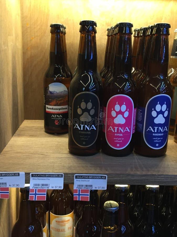 Norweski piwo zdjęcie stock