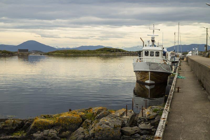 Norweski schronienie obraz royalty free