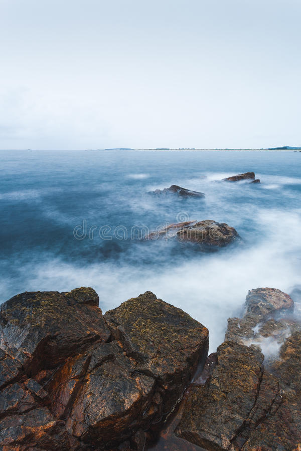 Norweski waterscape fotografia stock