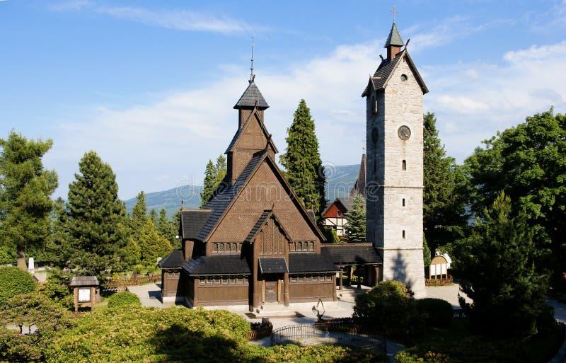 norweskie Wang świątyni zdjęcie royalty free