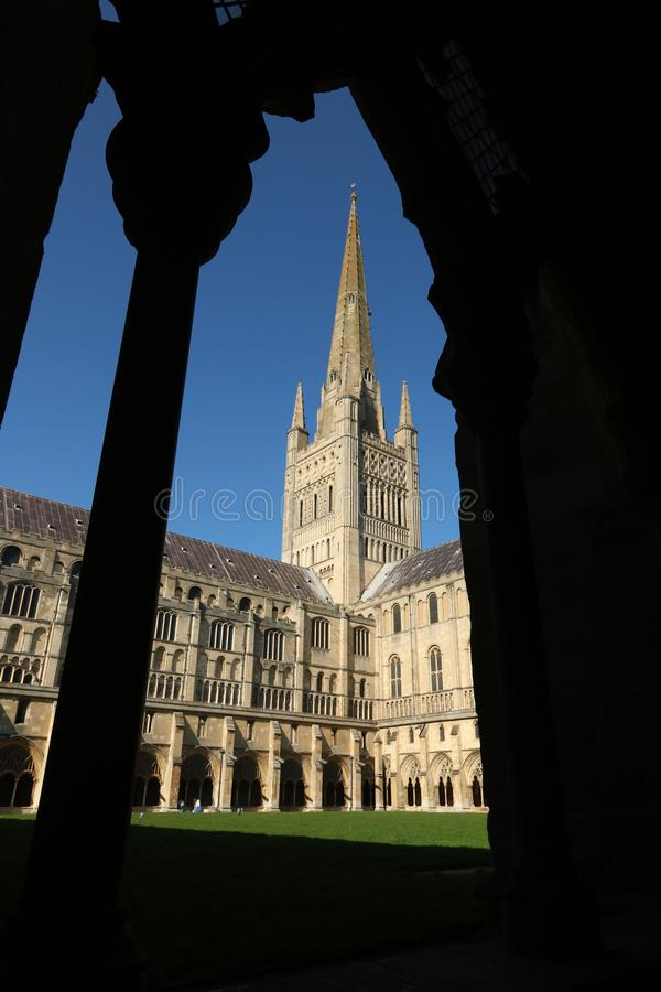 Norwich katedra obraz stock