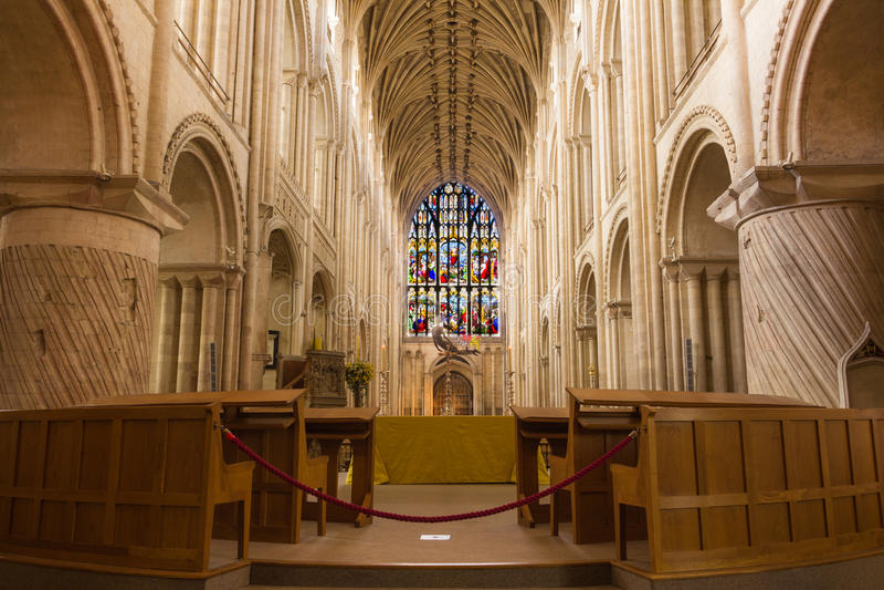 Norwich katedra obrazy royalty free
