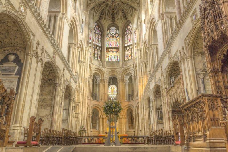 Norwich katedra zdjęcia stock