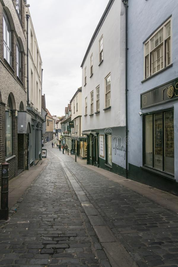 Norwich pasy ruchu obrazy stock
