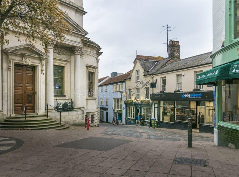 Norwich pasy ruchu obrazy royalty free
