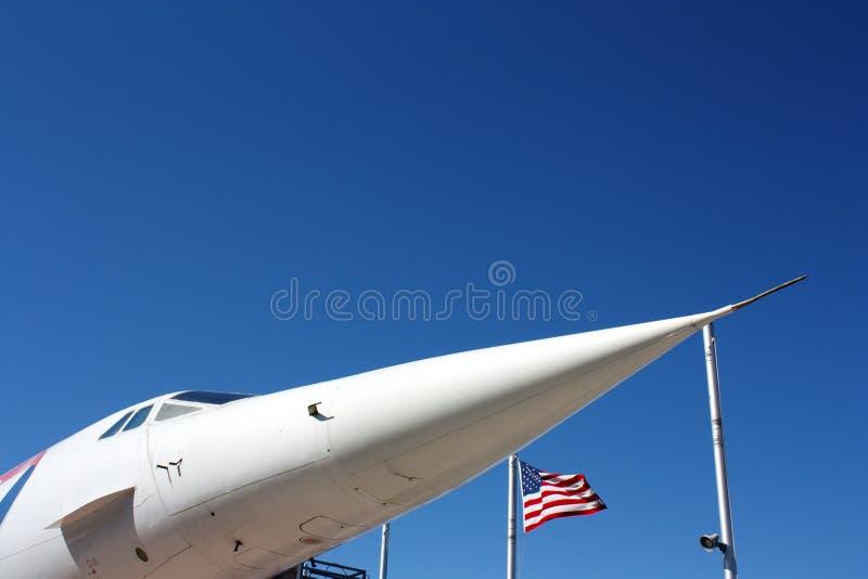Nos Concorde zdjęcia royalty free