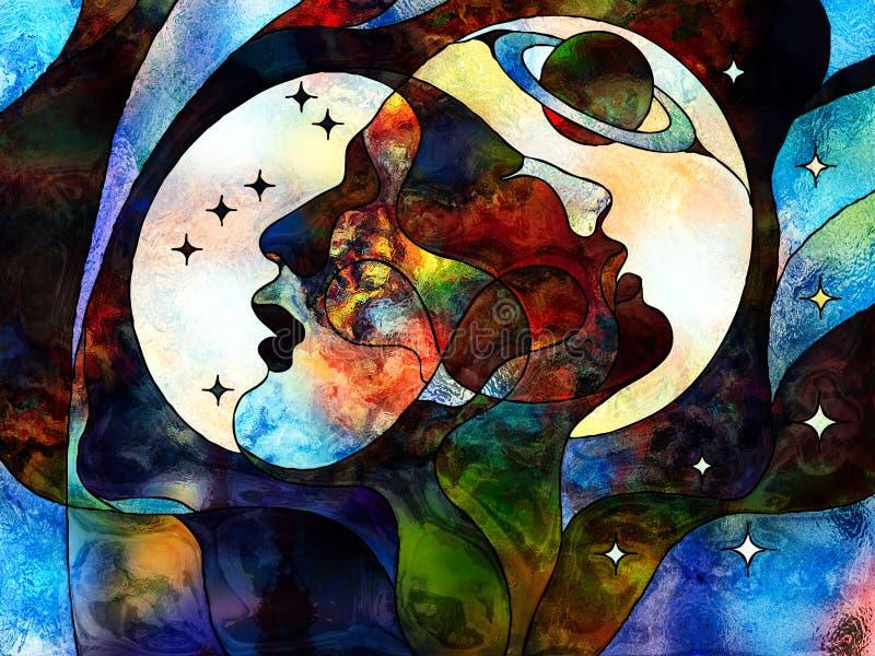 Nos univers illustration libre de droits