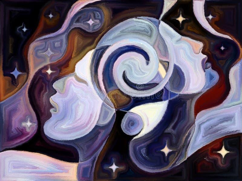 Nos univers illustration de vecteur