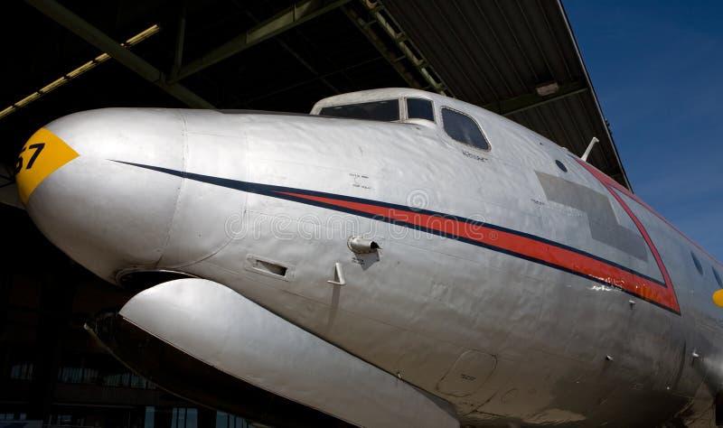 nosa samolot zdjęcie stock