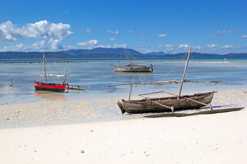Nosaty Iranja, Madagascar fotografia stock