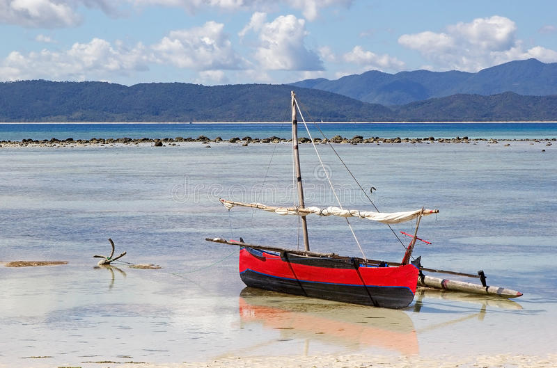 Nosaty Iranja, Madagascar obraz royalty free