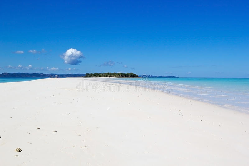 Nosaty Iranja, Madagascar fotografia royalty free