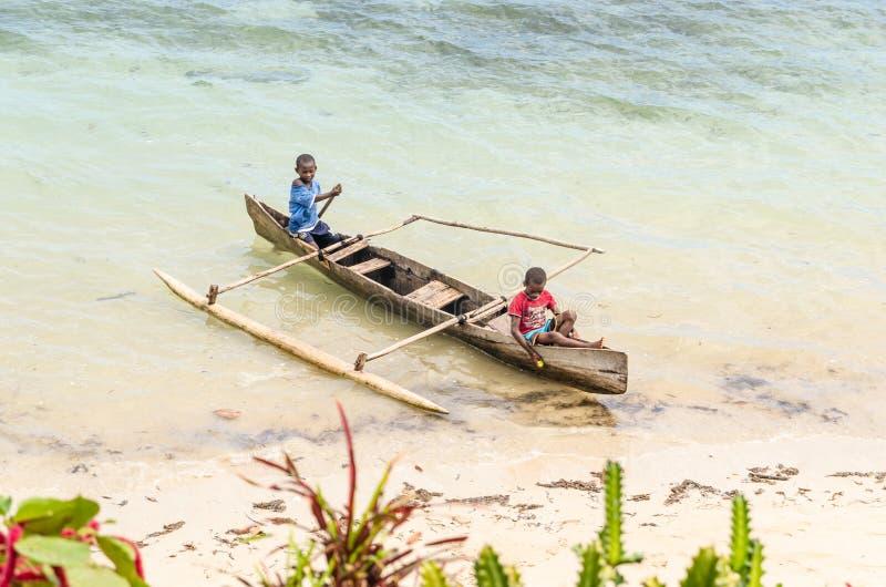 Nosaty Komba Madagascar zdjęcia royalty free