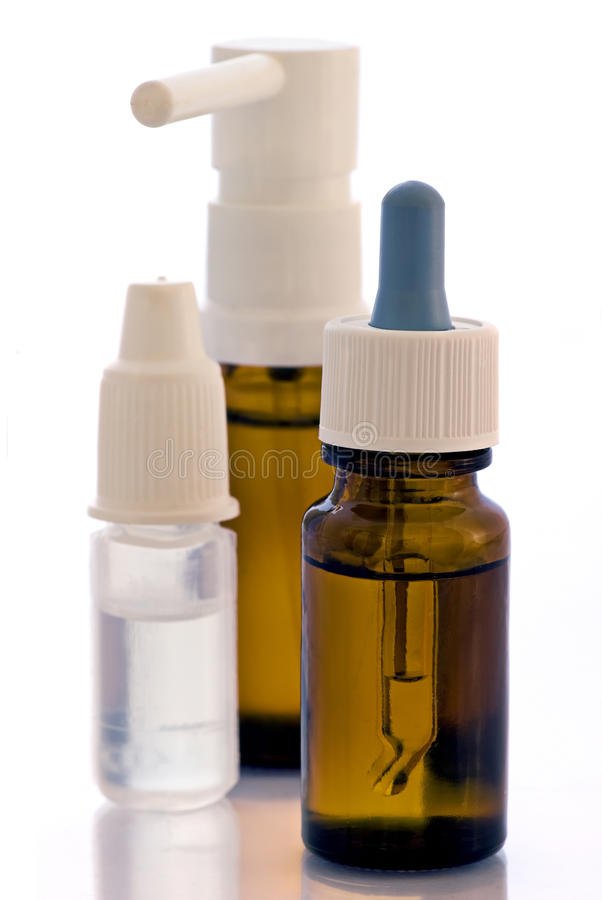 Download Nose Drops and Spray stock image. Image of dilution, bottle - 11282907