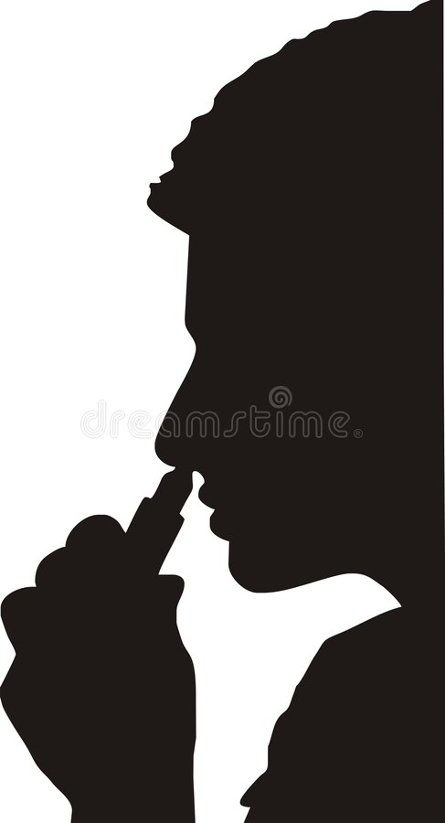 Nose medicine inhale stock illustration