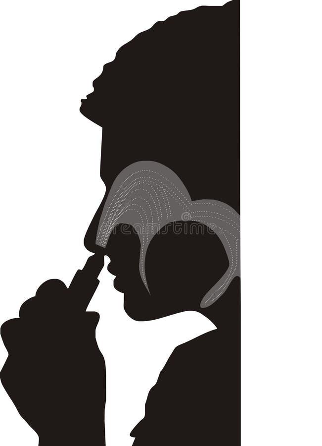 Nose Medicine Inhale Stock Image