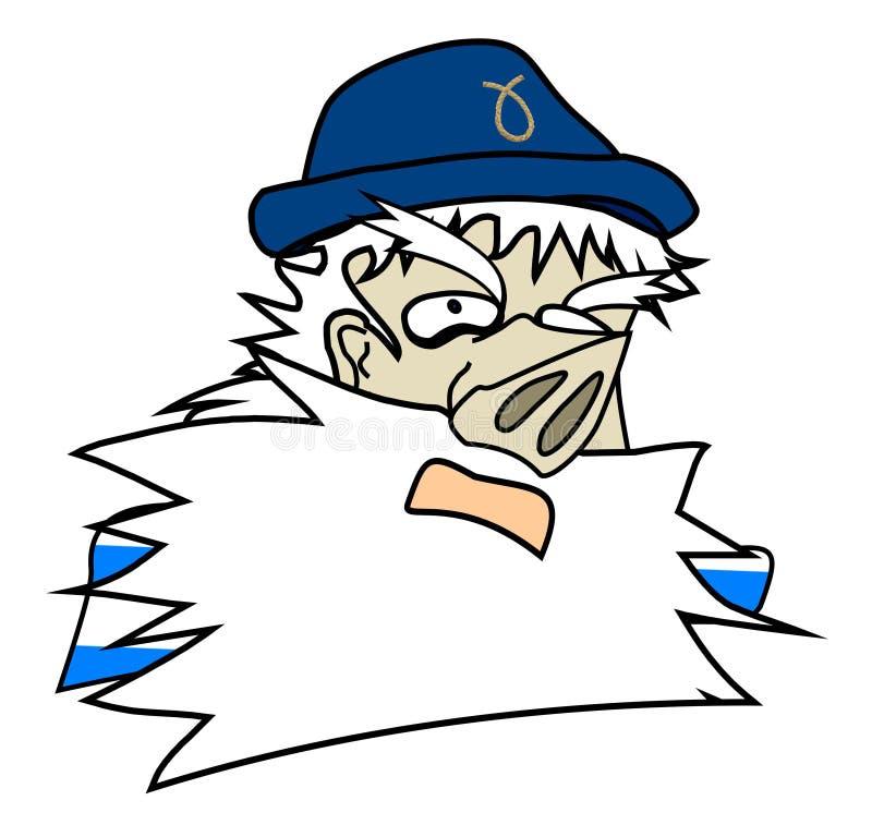Download Nose sailor stock illustration. Illustration of search - 11503907