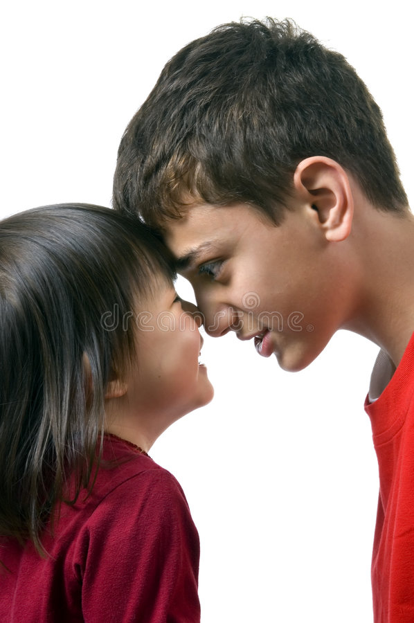 Download Nose To Nose Stock Image - Image: 2378851