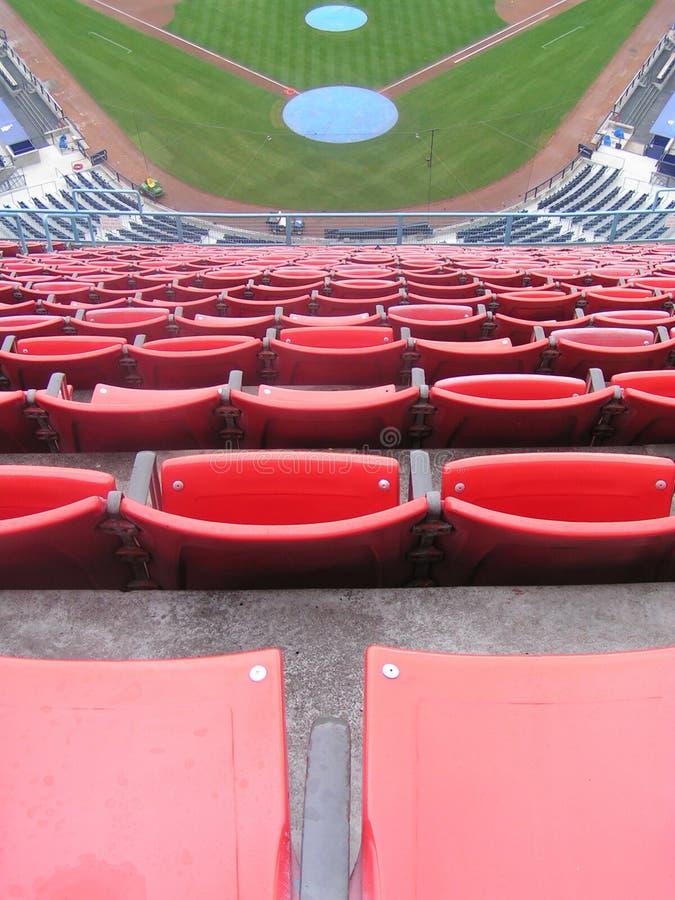 Nosebleed seats royalty free stock photography