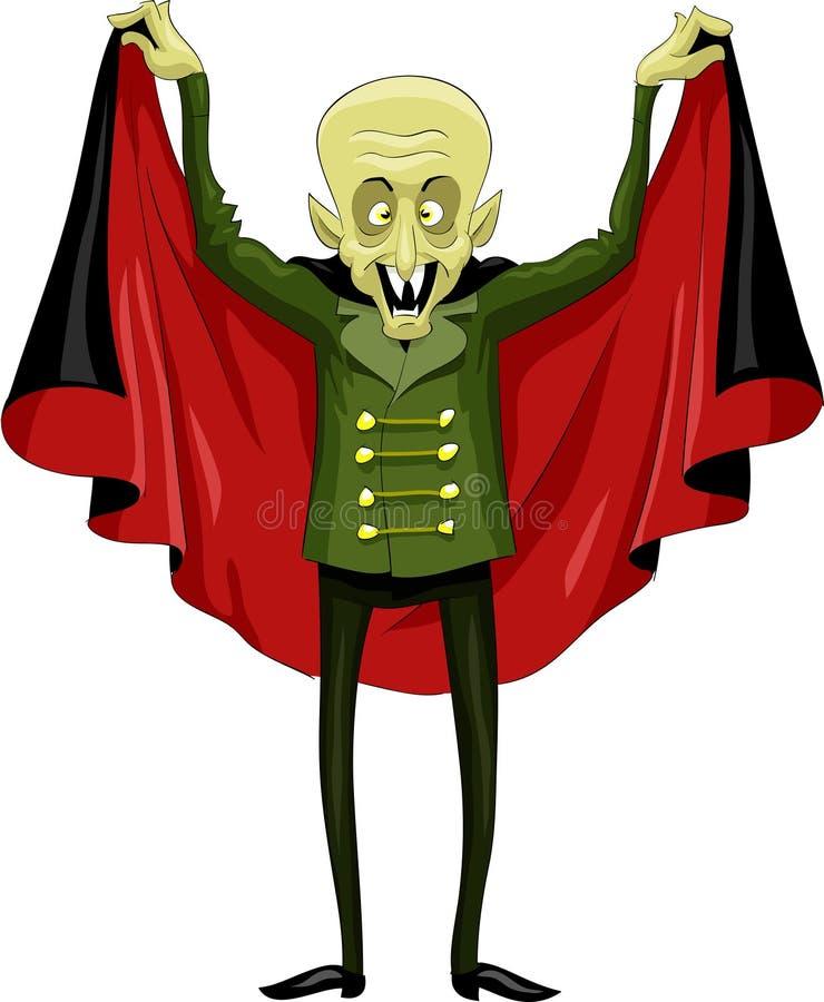Nosferatu illustration de vecteur