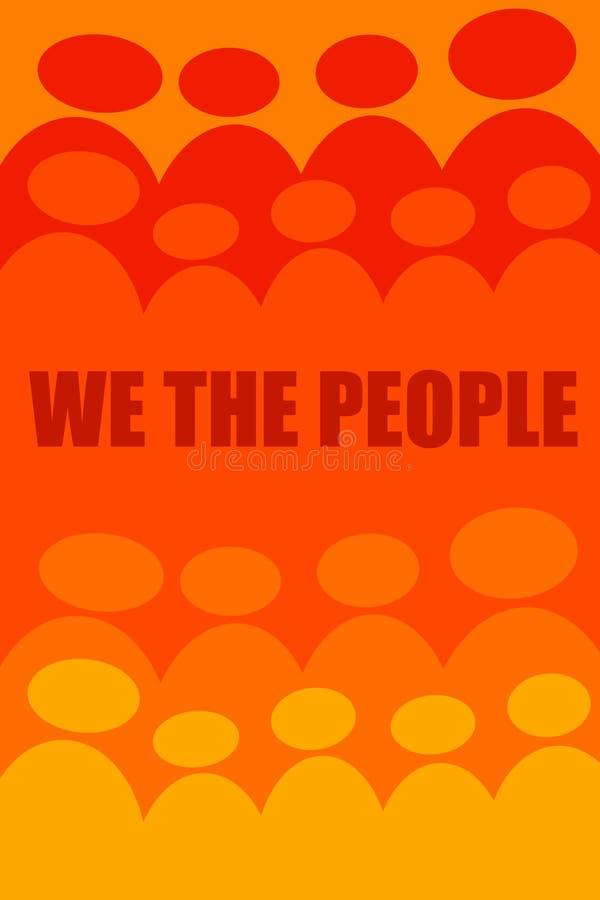 Nosotros la gente libre illustration