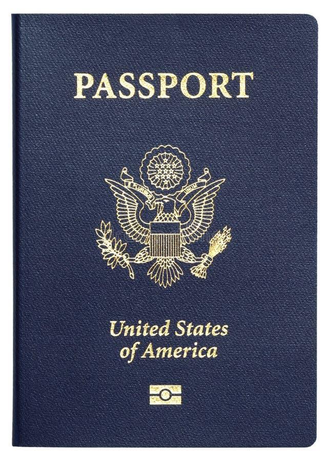Nosotros pasaporte foto de archivo libre de regalías