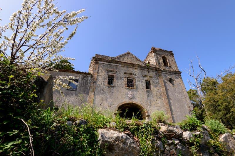 Nossa Senhora делает Desterro в Monchique, Алгарве, Португалии стоковое изображение rf