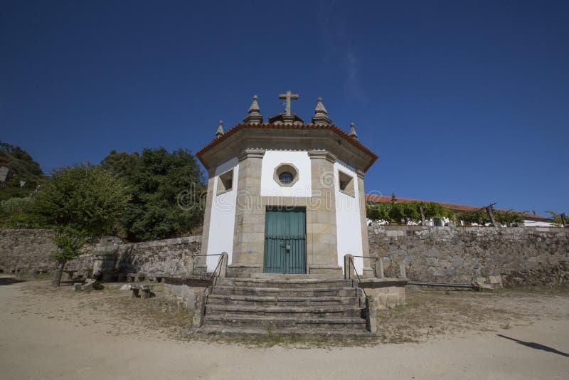 Nossa senhora da boa capela da expedição, Baião imagens de stock royalty free