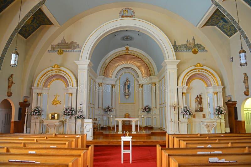 Nossa senhora da boa igreja da viagem, Gloucester, miliampère, EUA imagem de stock royalty free