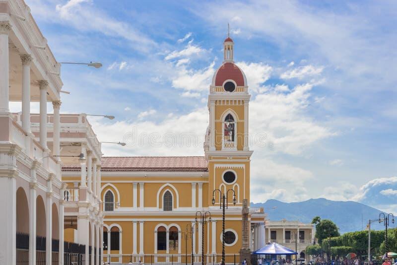 Nossa senhora da catedral da suposição, Granada imagens de stock royalty free