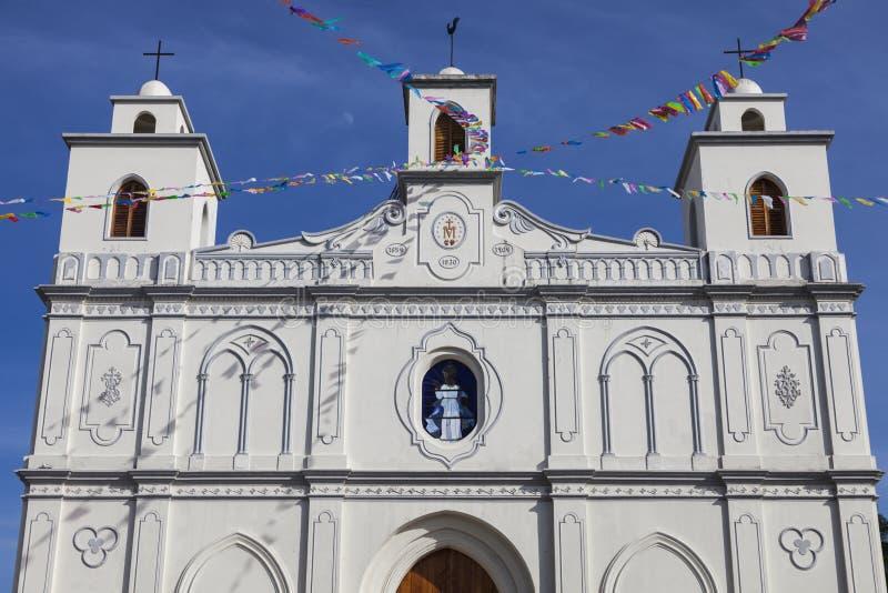 Nossa senhora da igreja da suposição em Ahuachapan foto de stock royalty free