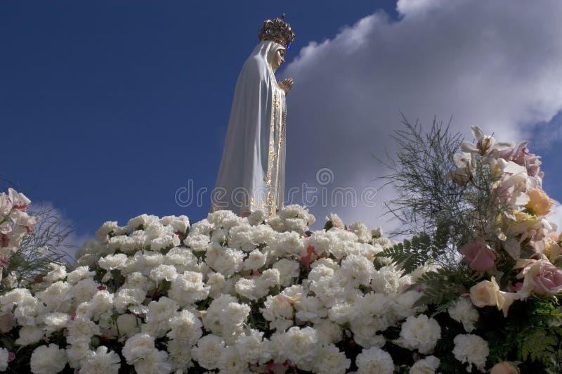 Nossa senhora de Fatima imagem de stock