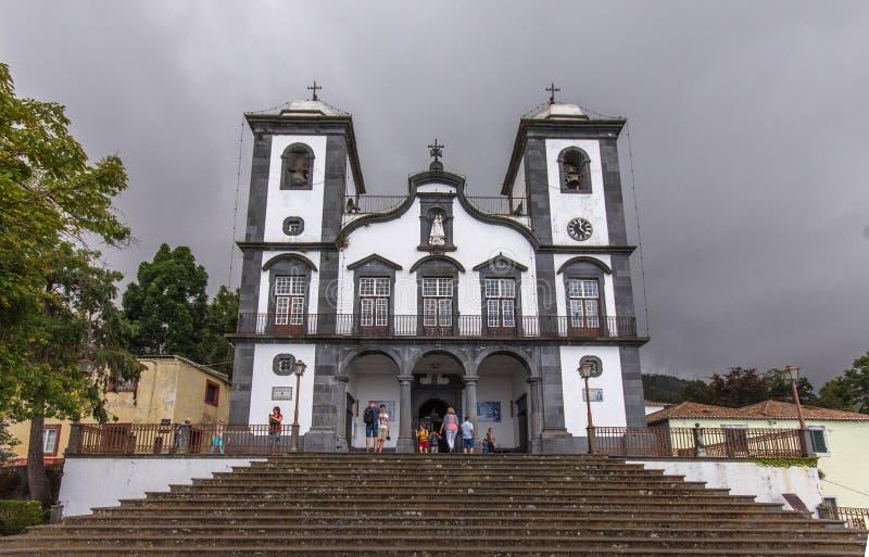 Nossa Senhora doet Monte Church royalty-vrije stock afbeeldingen