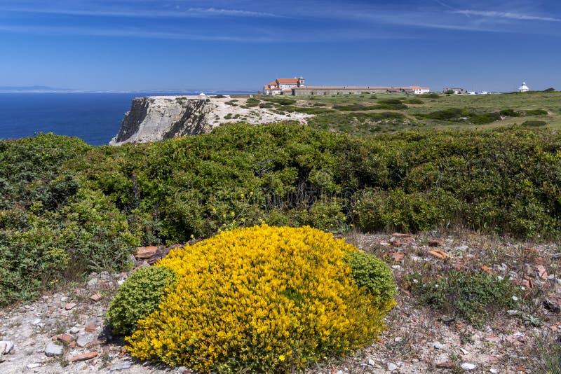 Nossa Senhora hace la iglesia de Cabo, Portugal fotos de archivo libres de regalías